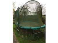 SkyHigh Oval trampoline 8x14 foot