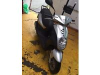 SYM Symply 50cc Scooter(derestricted) - MOT AUG 2018. £500