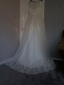 Alfred Angelo Ivory Wedding Dress Size 14-16