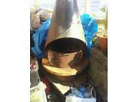 Genuine cast iron Jottul fireplace