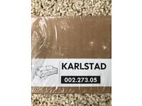karlstad 2 seater green cover