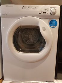 New The Candy Vented Sensor Tumble Dryer has 9kg load
