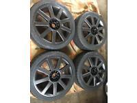 Alloy wheels & tyres. Audi, VW, 5x100, 5x112 multifit