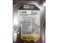 1TB Western Digital Enterprise Hard Drive for sale.