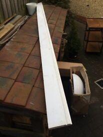 6x MDF skirting boards (New)