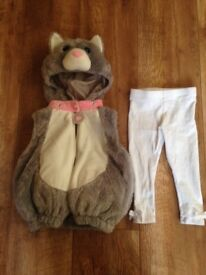 Baby girl cat costume size 6-12 months Tk Maxx