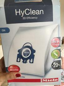 Miele hyclean blue hoover bags