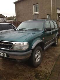Ford Explorer for sale or px may swap