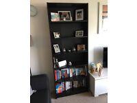 Black IKEA bookshelf/bookcase