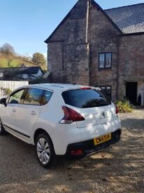 Peuegot 3008 Active for sale (new shape) - Low Miles, Auto, Diesel, 2014 first registered
