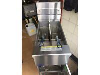 Pitco twin gas fryer (S.G 14TS)