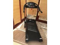Reebok ZR9 treadmill vgc with MP3 input, handle controls, auto incline decline