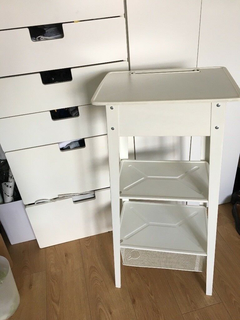 Standing Laptop Station Ikea Ps 2014 White In Camden