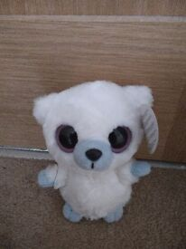 YooHoo and friends soft toy. White in colour. Toy still has tag attached. We're a smoke free home.