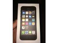 Brand new in box iPhone 5s space gray on ee