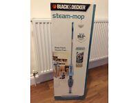 brand new black & decker steam mop