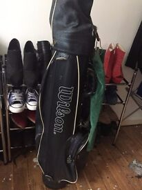 Used Clubs and Bag (set of 10)