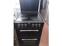 55CM BLACK STOVES ELECTRIC COOKER