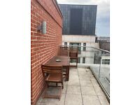IKEA Outdoor table with 4 chairs