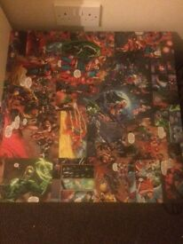 Dc comics table