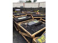 Spanish and Bangor blue natural slates all sizes and grades