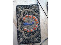 Vintage Zardozi Evening Clutch Bag