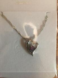 High quality Austrian crystal Diamonds Heart Necklace Class WomenSwarovski Elements