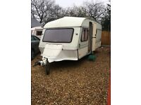 1992 4 berth ace ambassador with full awning and Moter mover in mint condition