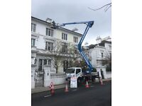 CHERRY PICKER HIRE, ACCESS PLATFORM HIRE, ROOFING WORK, PROPERTY MAINTENANCE