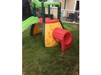 Kids climbing garden toy