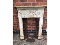 Victorian Edwardian reclaimed fireplace