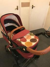 Isafe pushchair/buggy
