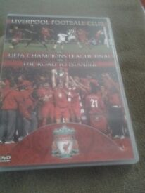 2 x LIVERPOOL F.C. DVD's for sale.