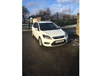 2011 FORD FOCUS 1.6 TDCI WHITE MANUAL **LOW MILEAGE** STUNNING ** VERY ECONOMICAL **
