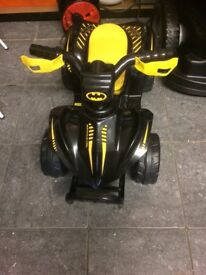 6v Batman mini quad ride on