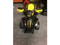 6v Batman mini quad ride on
