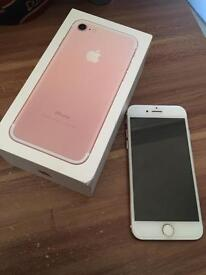 BRAND NEW iPhone 7 - 32gb - Rose gold - EE
