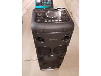 sony high power audio system