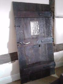 Solid Oak External Door