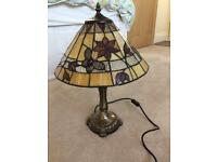 Tiffany side table lamp