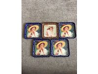 COCA COLA COASTERS FROM SPAIN - IN GREAT CONDITION