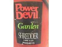 Garden shredder, used in good working order offers