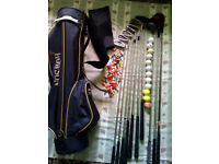 Howson Golf Bag with 10 Golf Sticks