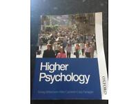 Higher Psychology book