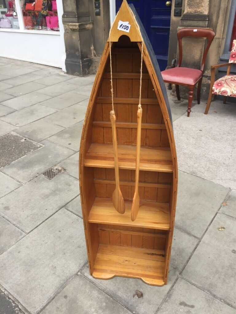 Boat Shaped Cabinet Could Be Used As Bookcase Or Cupboard On Wall Feel Free To View In Trinity Edinburgh Gumtree
