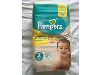 Nappies pampers size 2