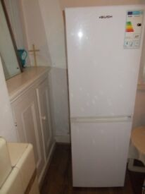 Freestanding Double Fridge Freezer BUSH LARGE VERY SPACIOUS Perfect condition !!