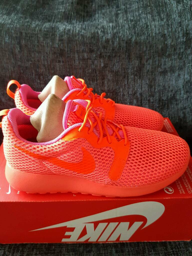 edeyv ✡✡ authentic ✡✡womans nike roshe one hyp br size 5 rrp £80