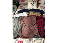Selection of Maternity tops to fit size 8