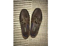 MENS TIMBERLAND LEATHER BOAT SHOES